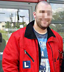 Atif S., op de foto geslaagd voor zijn motorrijbewijs, is betrokken bij een enorme drugssmokkelzaak.