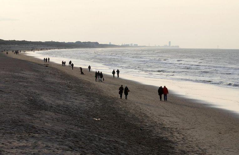 De kust in Wenduine. Beeld belga