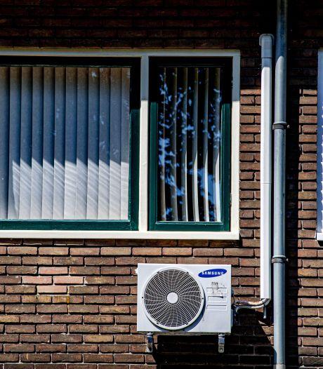 Airco blaast warme lucht in slaapkamer bij de buren, maar daar kan Hengelo niets aan doen