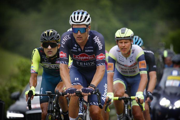 Jonas Rickaert koos zaterdag in de Ardennenrit van de Baloise Belgium Tour voor de vroege vlucht en deed zo een gooi naar de eindzege in het strijdlustklassement.