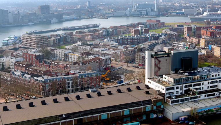 De wijk Katendrecht in Rotterdam-Zuid Beeld anp