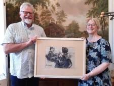 Opgedoken onbekend werk Stien Eelsingh hing tientallen jaren aan een slaapkamermuur