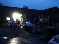 Opruimen drugsafval boerderij Voorst voor rekening van eigenaren