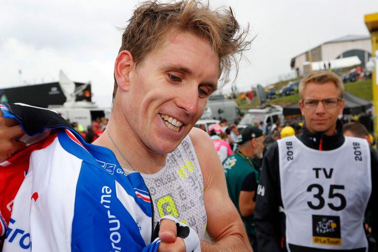 Arnaud Démare na de finish.