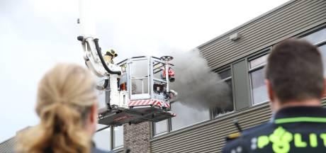 Brand op dak van bedrijfspand Delfgauw