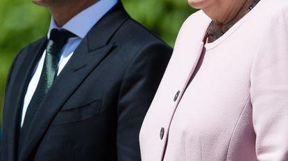 Merkel trilt hevig, wellicht door uitdroging