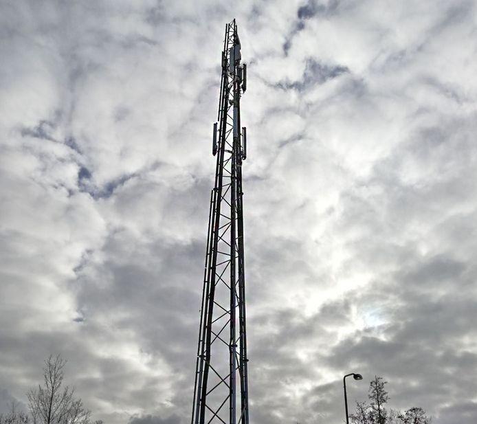 Een GSM-mast ter illustratie.