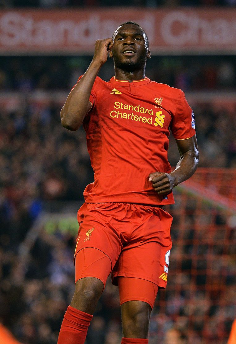 Blijft Christian Benteke bij Liverpool? Beeld EPA