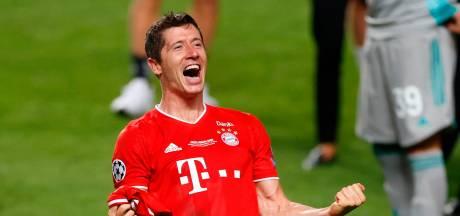 Lewandowski evenaart Cruijff met weergaloze 'topscorers-treble'