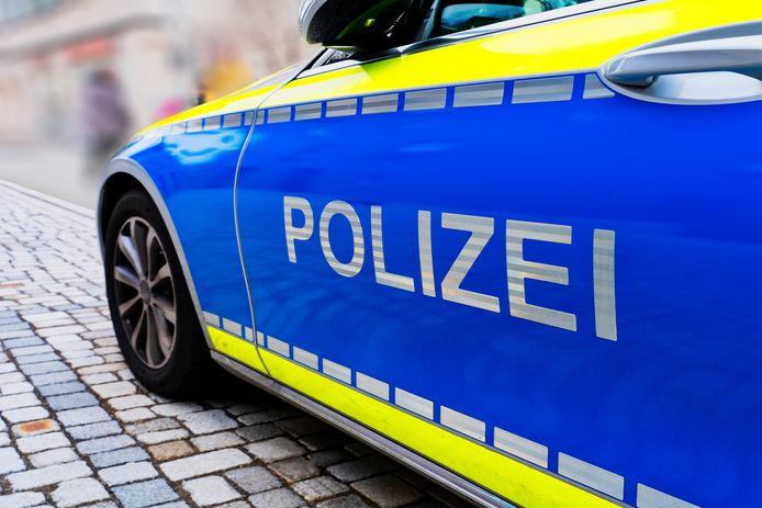 Stockfoto van de Duitse politie
