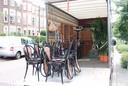 Op woensdag werden al stoelen en planten naar de Baronielaan gebracht voor de opnames van de tv-serie De Stamhouder in Huize Joosen.