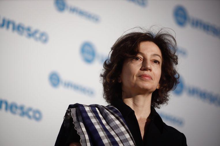 Unesco-directeur-generaal Audrey Azoulay.