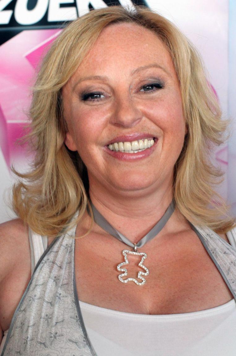 Axana Ceulemans, bekend van Def Dames Dope, trekt de N-VA-lijst in Herentals. Beeld UNKNOWN
