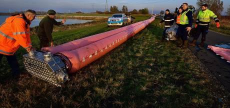 Droog oefenen voor dreigende waterramp bij Volkerak-Zoommeer