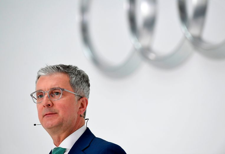 Archiefbeeld van Audi-topman Rupert Stadler. Beeld AFP