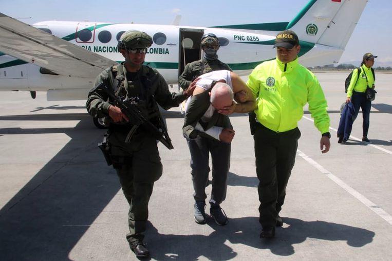 Op 10 februari werd Said Razzouki in Columbia gearresteerd. Hij werd gezocht voor drugshandel en moord. Beeld EPA