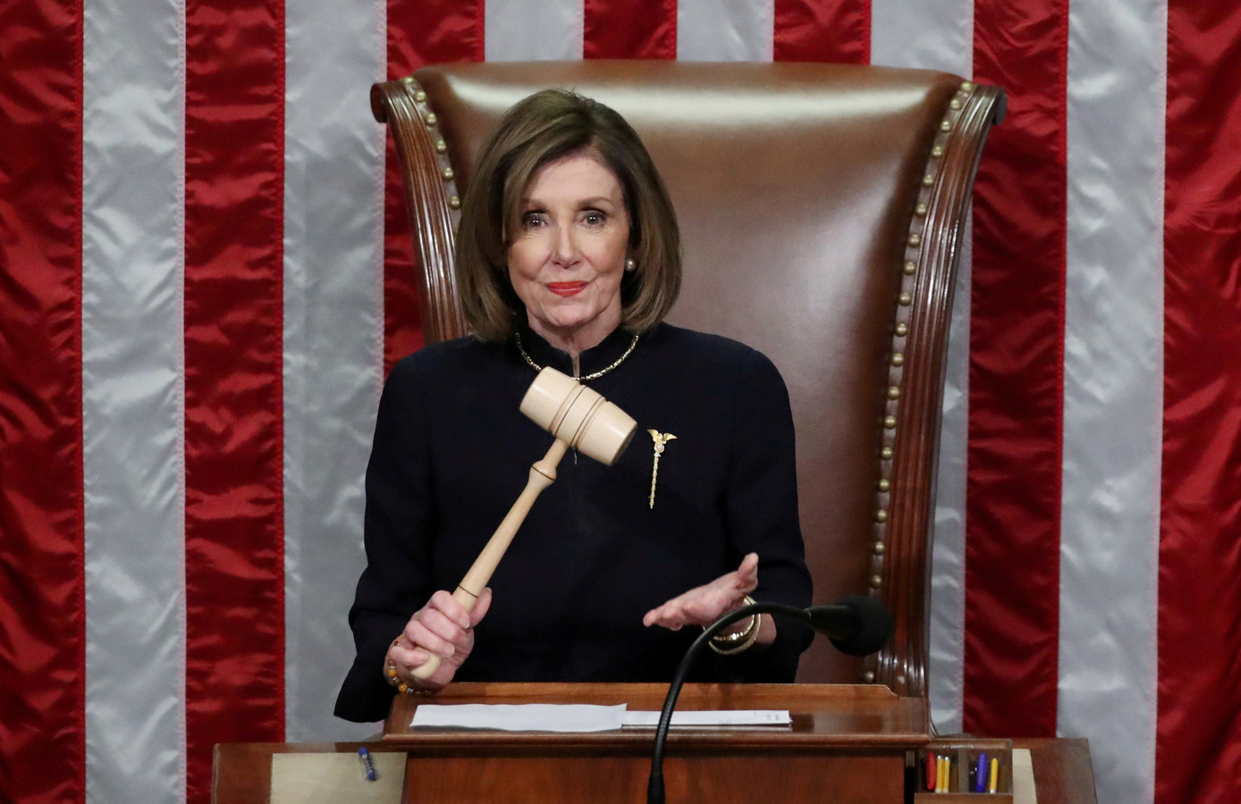 Nancy Pelosi, président de la Chambre des représentants