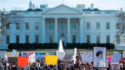 Regering Trump wil protestacties voor Witte Huis aan banden leggen