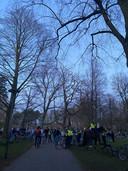Politie ontruimt druk Wilhelminapark in Utrecht