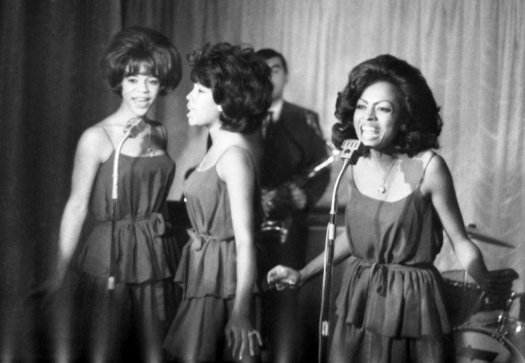 Van links naar rechs: Florence Ballard, Mary Wilson en Diana Ross. Beeld AP