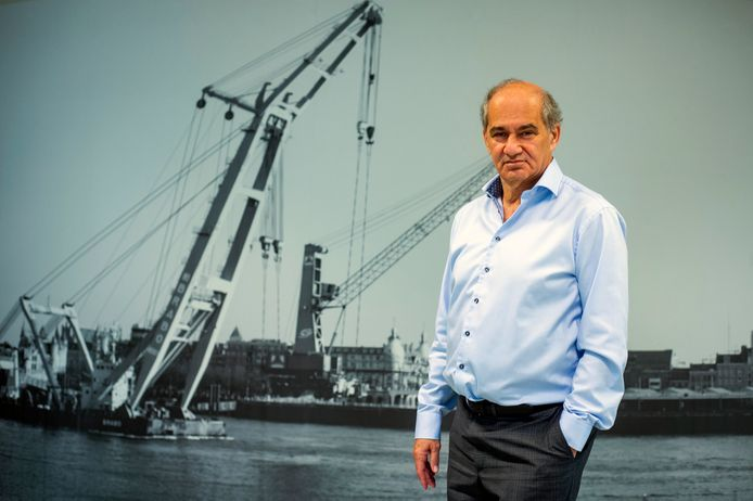 Claude Marinower, schepen voor Economie, Innovatie en Digitalisering.