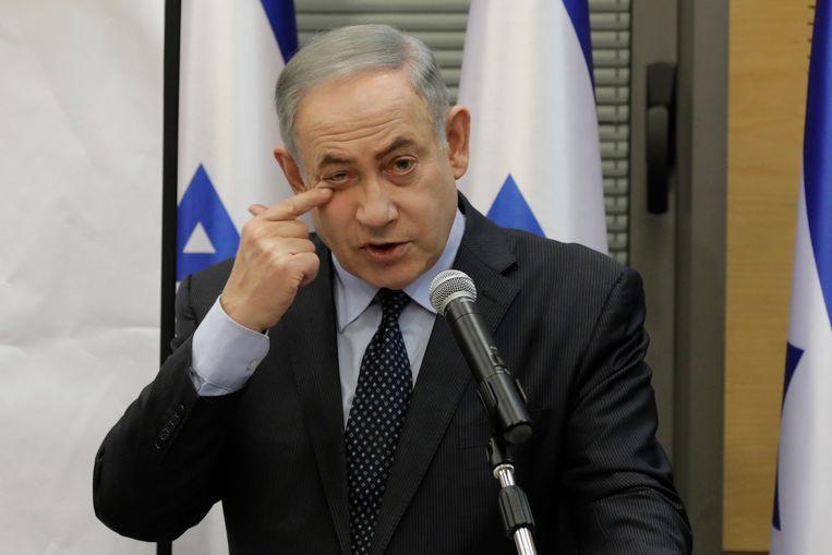 Benjamin Netanyahu. Beeld AP