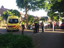 Scooter botst op auto in Ermelo