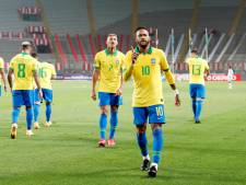 Argentinië wint nipt van Bolivia, Uruguay onderuit in Ecuador en hattrick Neymar in Peru