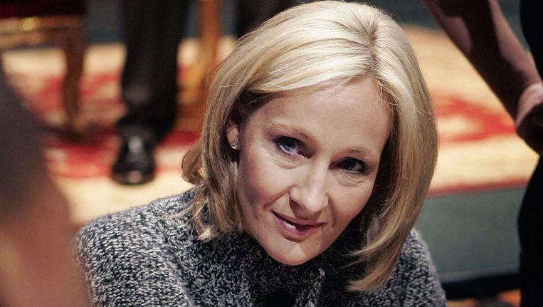 J. K. Rowling. Beeld AP