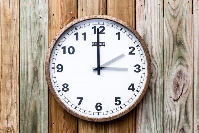 Op 31 Maart ging de klok een uur vooruit; de zomertijd ging in.