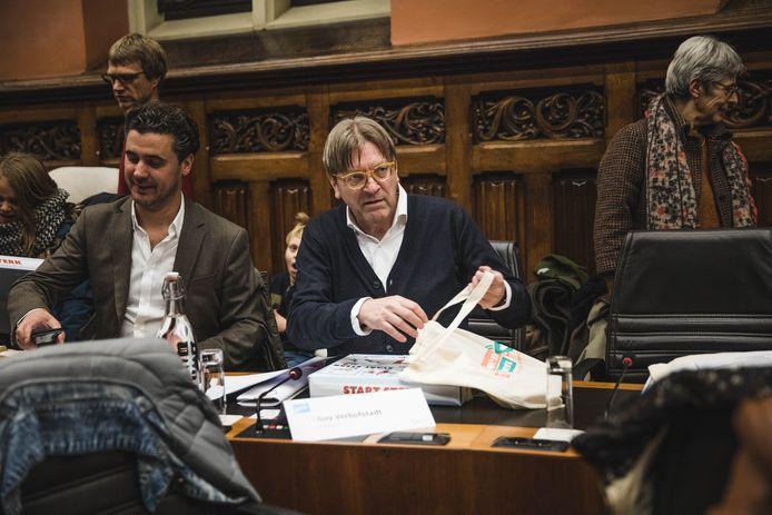 Guy Verhofstadt zetelt in de Gentse gemeenteraad