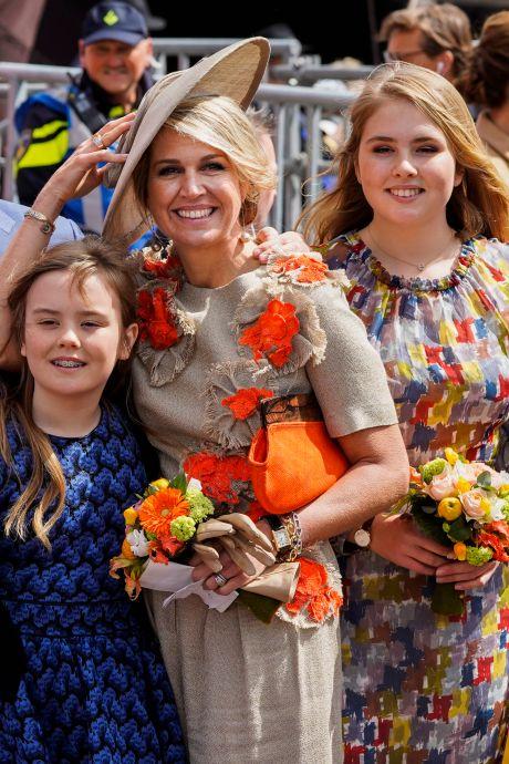 Koninklijke familie viert Koningsdag 2021 in Eindhoven