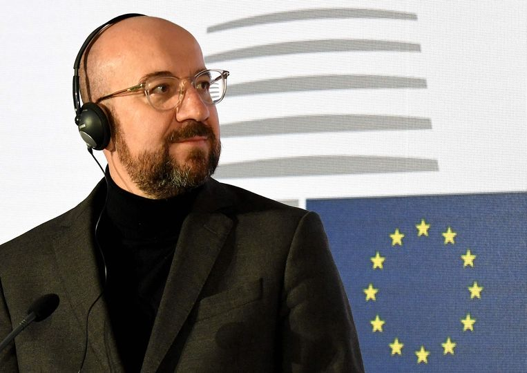 EU-President Charles Michel. Beeld AFP