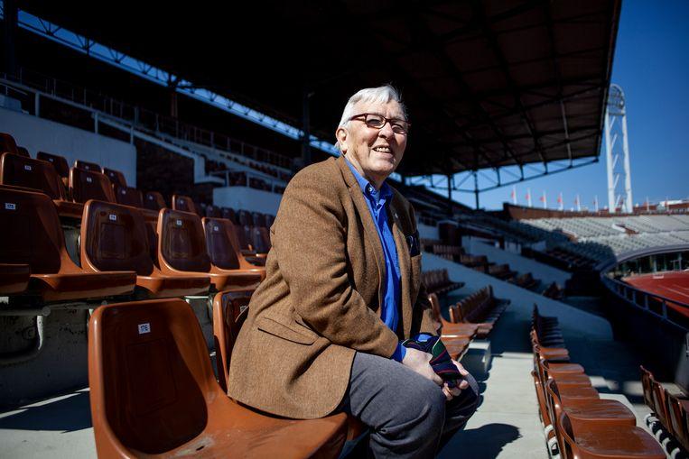 Wim Schuiveling: 'Ik herinner me al die sprintduels op de baan tussen Arie van Vliet en Jan Derksen. Die twee stonden soms minutenlang surplace.' Beeld Lin Woldendorp