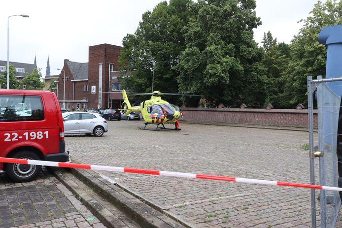 Ernstig ongeluk in Eindhoven.