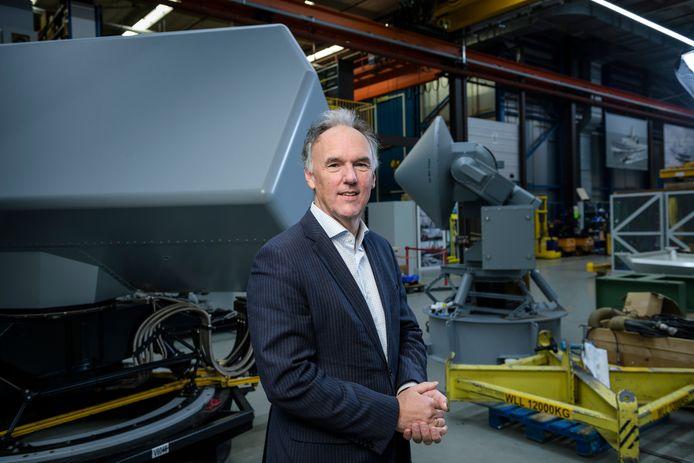 Niet het vinden van werk maar het vinden van nieuwe personeelsleden is nu de uitdaging die Thales-topman Gerben Edelijn wacht.