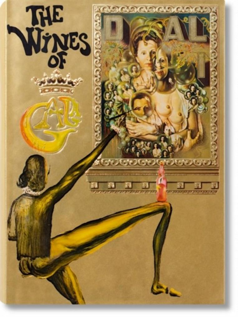 Dalí: The wines of Gala, Taschen, ca. €60 (Engelstalig Beeld -