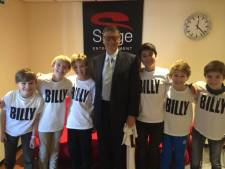 Bill Gates loopt jongens Billy Elliot tegen het lijf