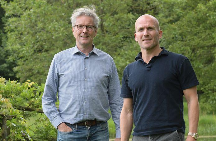 Hans de Vroome en Alex Kroes, twee van de (nu) drie aandeelhouders van GA Eagles