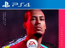 Virgil van Dijk op cover FIFA 20