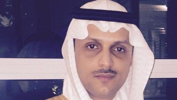 Prins Saud bin Saif al-Nasr.