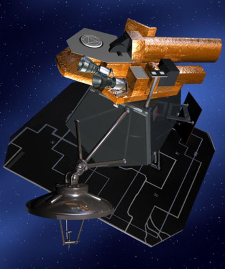 De ruimtecapsule Deep Impact verbaasde de wereld weer. Beeld AP