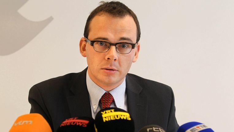Wouter Beke leidt CD&V op een rustige manier door moeilijke tijden als interim-voorzitter. De partijtop popelt dan ook om hem officiële leider te maken. Beeld BELGA