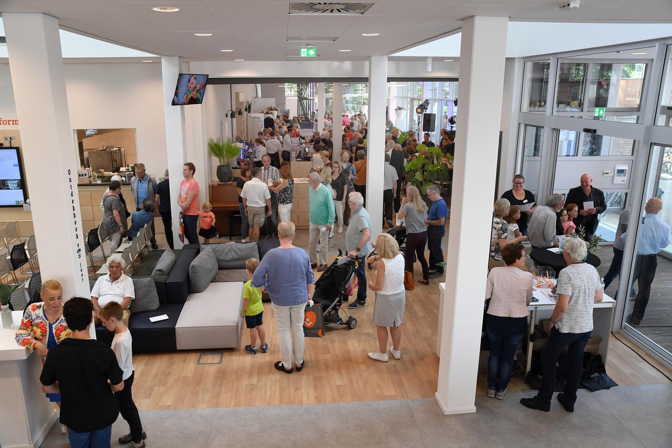 De open dag bij De Cammeleur in september 2018 toen het gebouw net was opgeleverd.