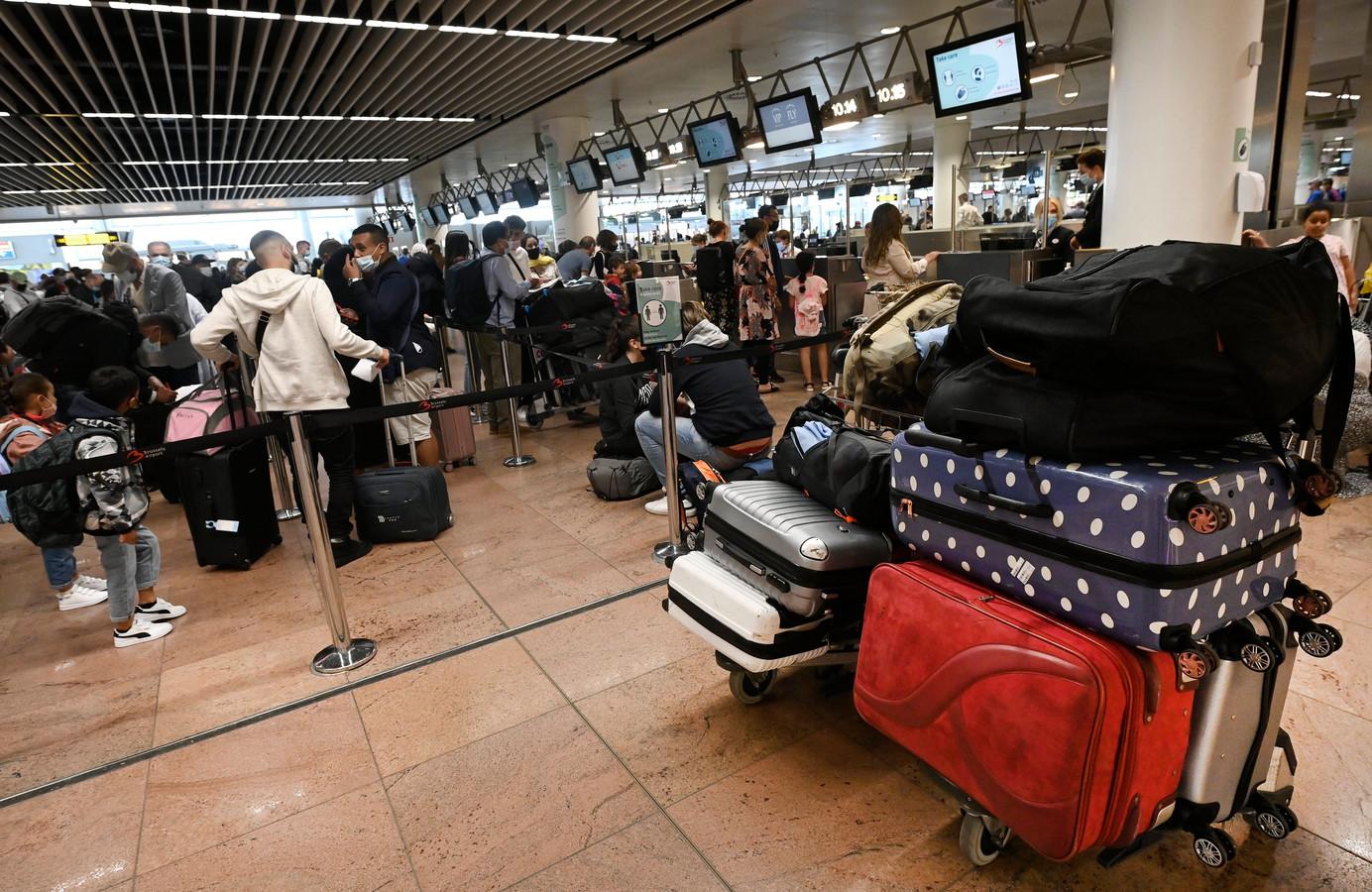 Het wordt steeds drukker op Brussels Airport.