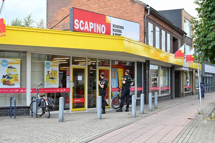 Overval Scapino Broekhovenseweg Tilburg