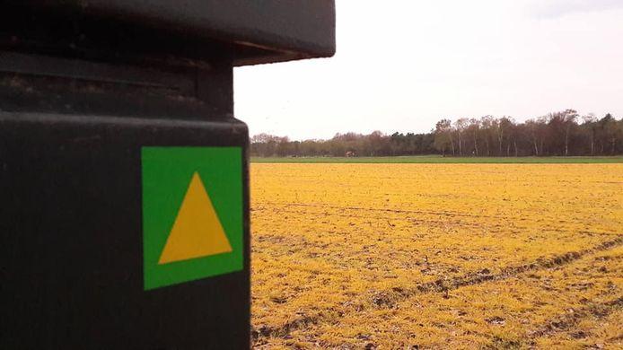 Bruin-gele velden in het Land van Cuijk.