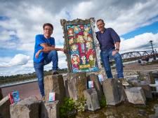 Ontwerpbureau uit Zutphen maakt kwartet voor acht Hanzesteden: 'Geven Splinter Loef een gezicht'