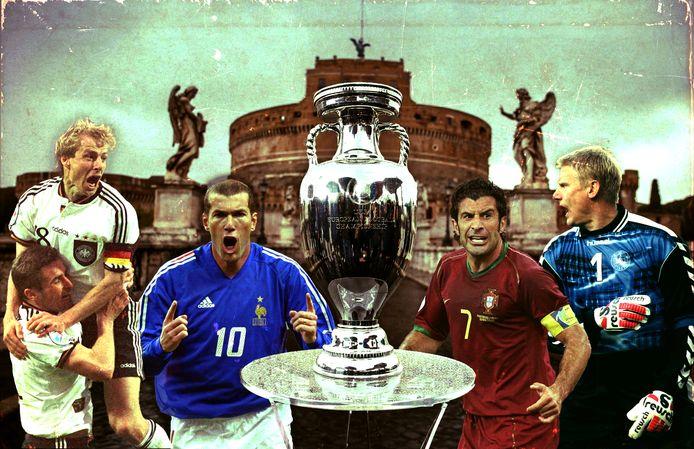 Weet jij wie van deze iconen uit het Europese voetbal ooit het EK won?