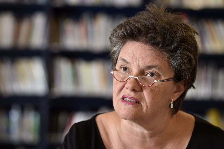 Caroline Copers, algemeen secretaris Vlaams ABVV. Beeld kos